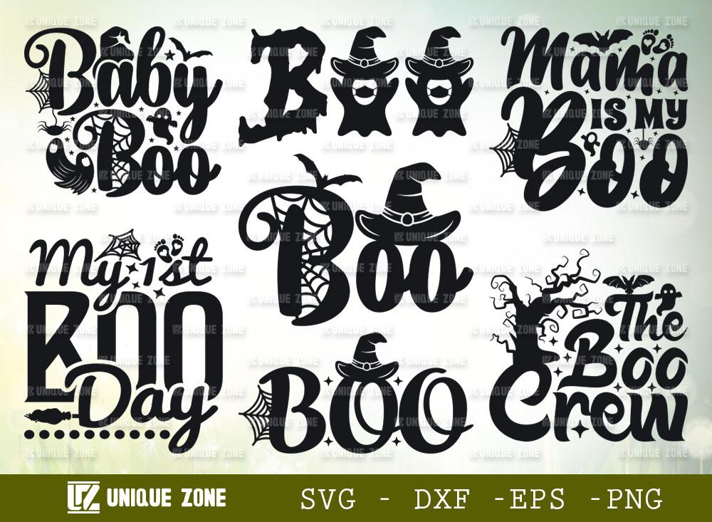 Halloween SVG Bundle | My 1st Boo Day SVG