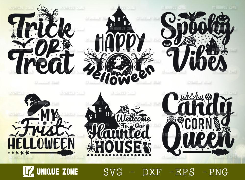 Halloween SVG Bundle | Trick Or Treat Svg
