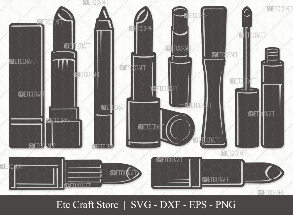 Lipstick Silhouette SVG   Lipstick SVG Bundle