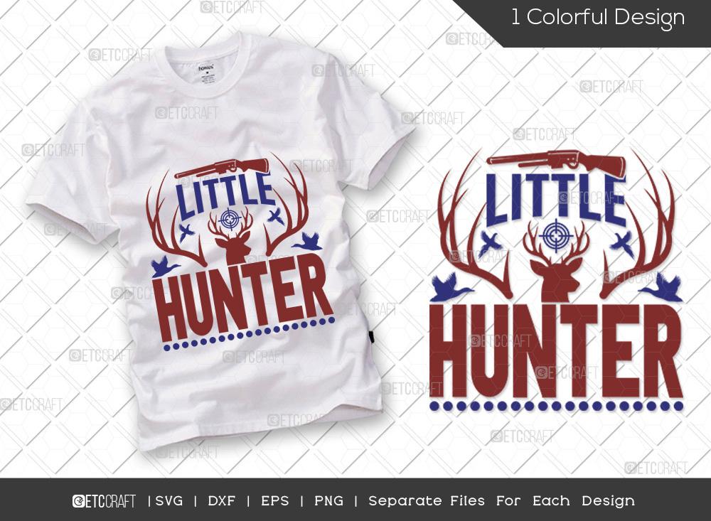 Little Hunter SVG Cut File | Hunter SVG