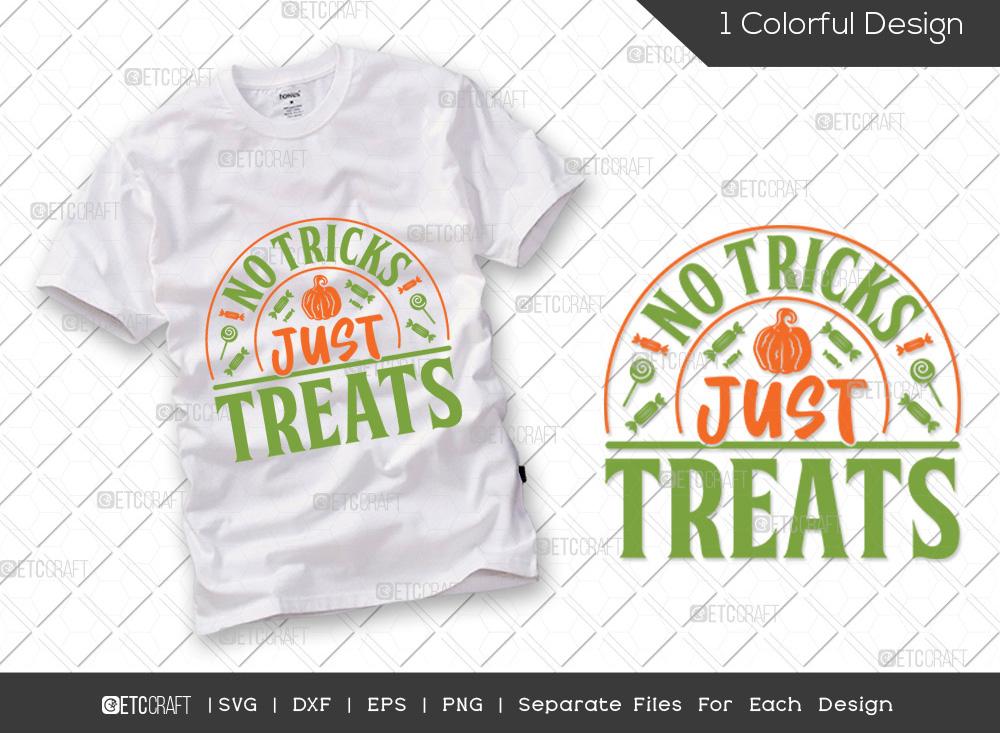 No Tricks Just Treats SVG | Halloween SVG
