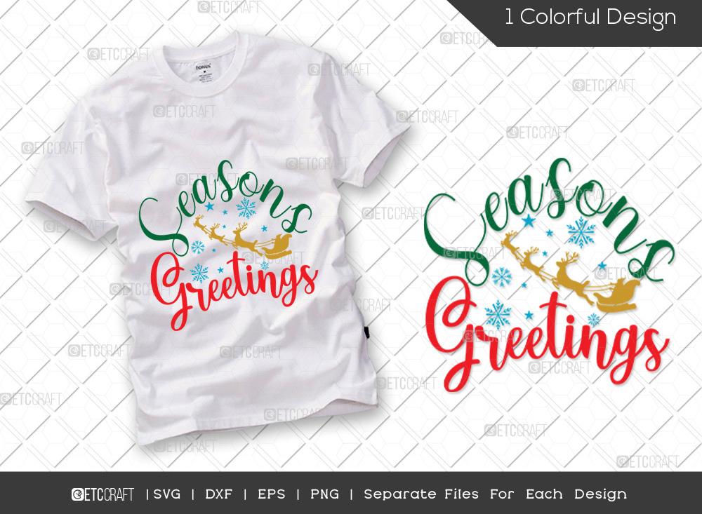 Seasons Greetings SVG | Christmas SVG
