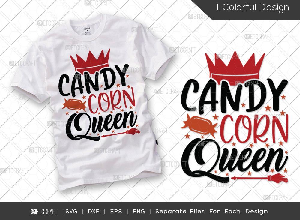 Candy Corn Queen SVG | Halloween SVG