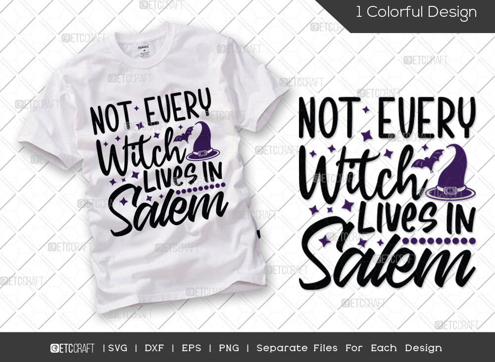 Not Every Witch Lives In SVG | Halloween SVG