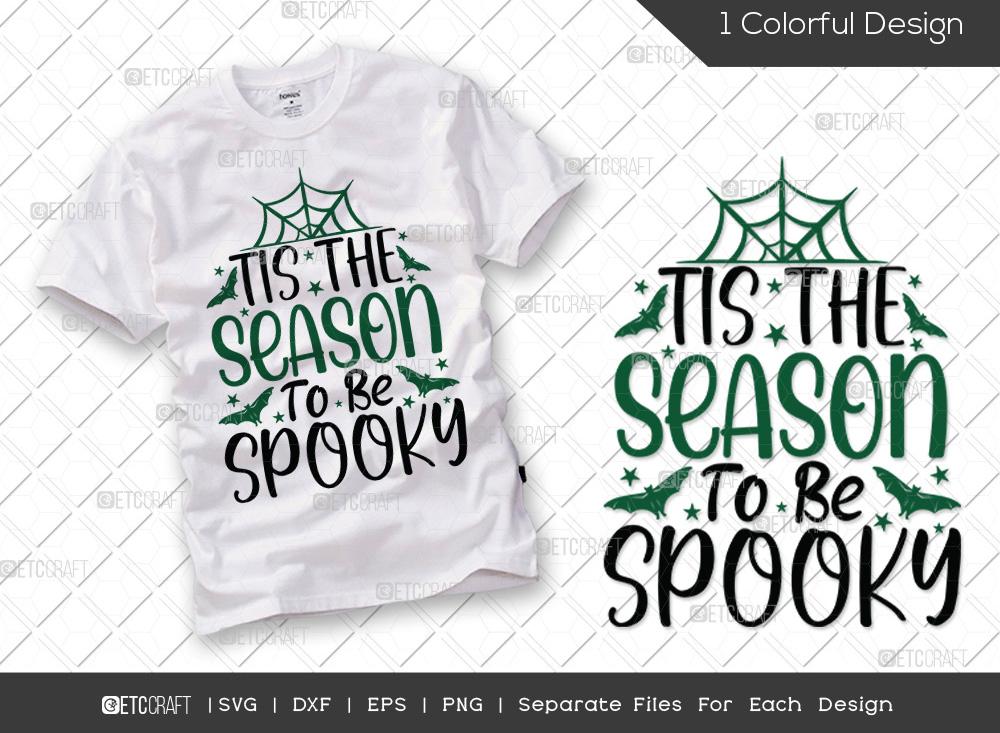 Tis The Season To SVG Cut File | Halloween SVG