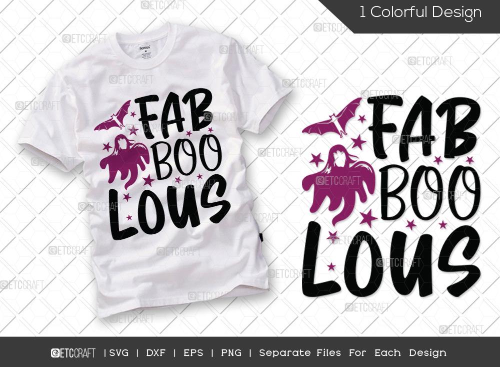 Fab Boo Lous SVG Cut File | Halloween SVG
