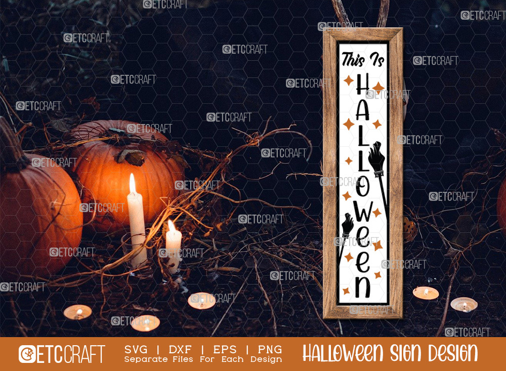 This Is Halloween Sign SVG   Halloween SVG