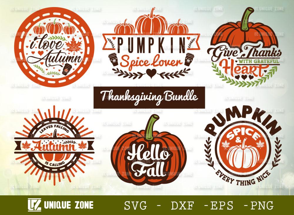 Thanksgiving Bundle SVG | Hello Fall SVG