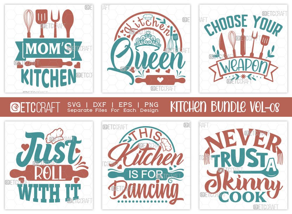 Kitchen SVG Bundle Vol-08   Moms Kitchen SVG