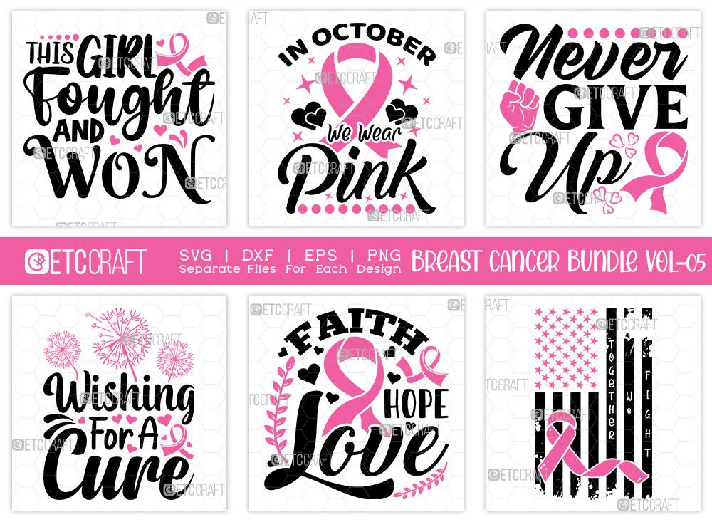 Breast Cancer Bundle Vol-05 | Faith Hope Love