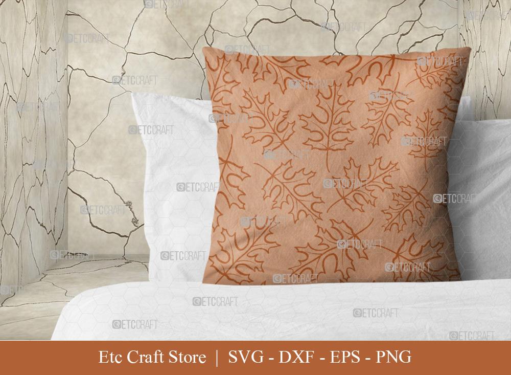 Leaves Pattern SVG Cut File | Leaf Pattern Svg
