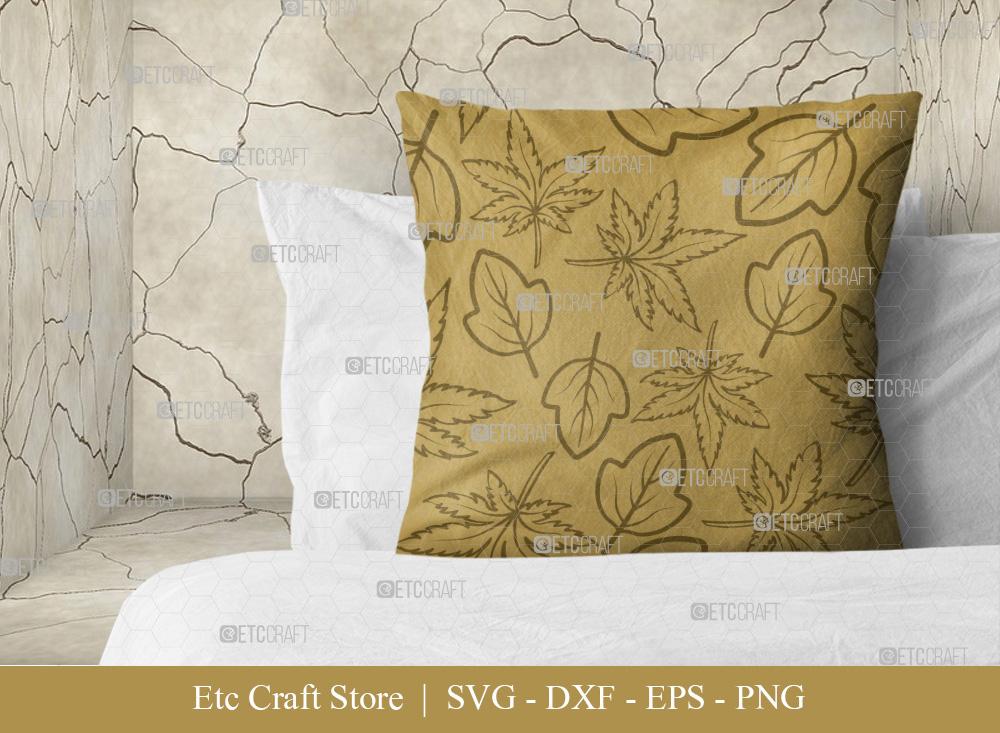 Leaves Pattern SVG Cut File | Thanksgiving Svg