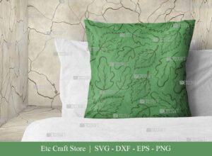 Leaves Pattern SVG Cut File   Leaf Pattern Svg