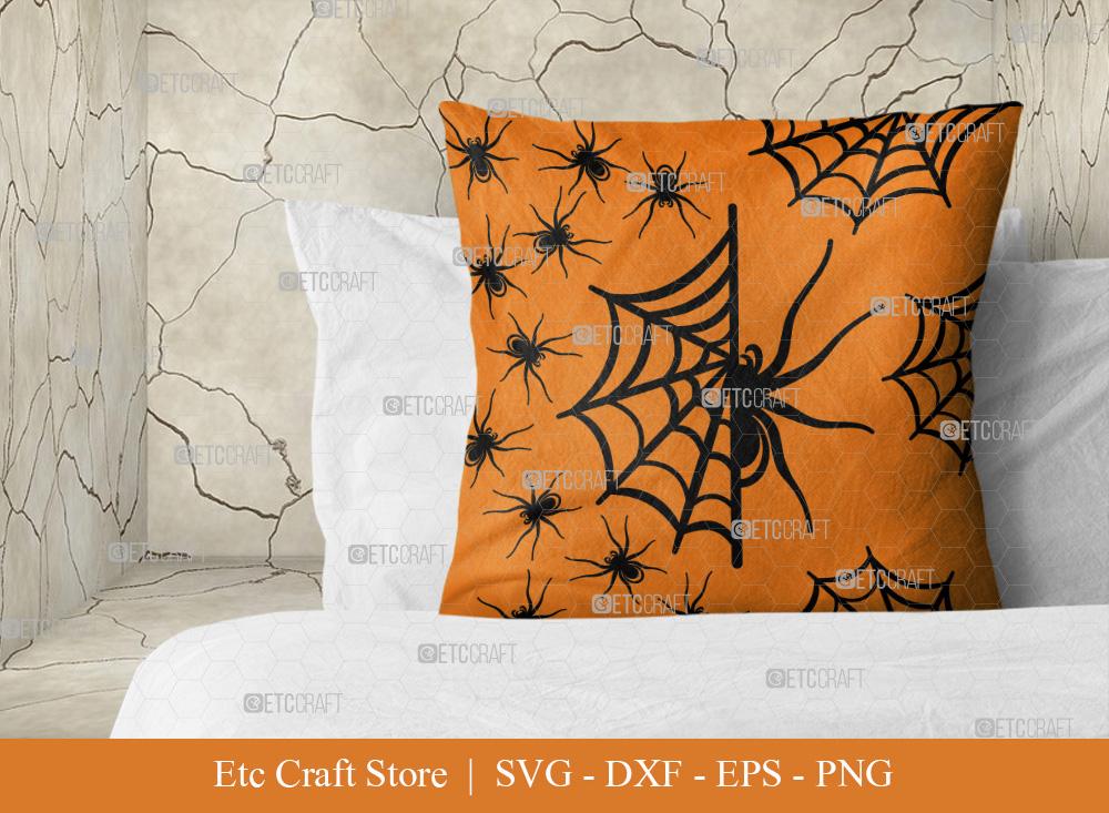 Spider Web Pattern SVG Cut File | Cobweb Svg