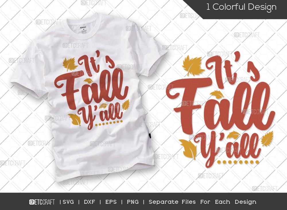 Its Fall Yall SVG | Thanksgiving SVG