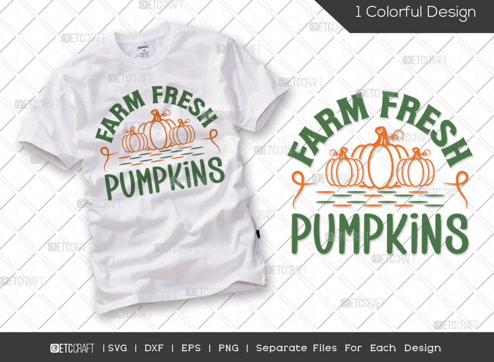 Farm Fresh Pumpkins SVG   Thanksgiving SVG