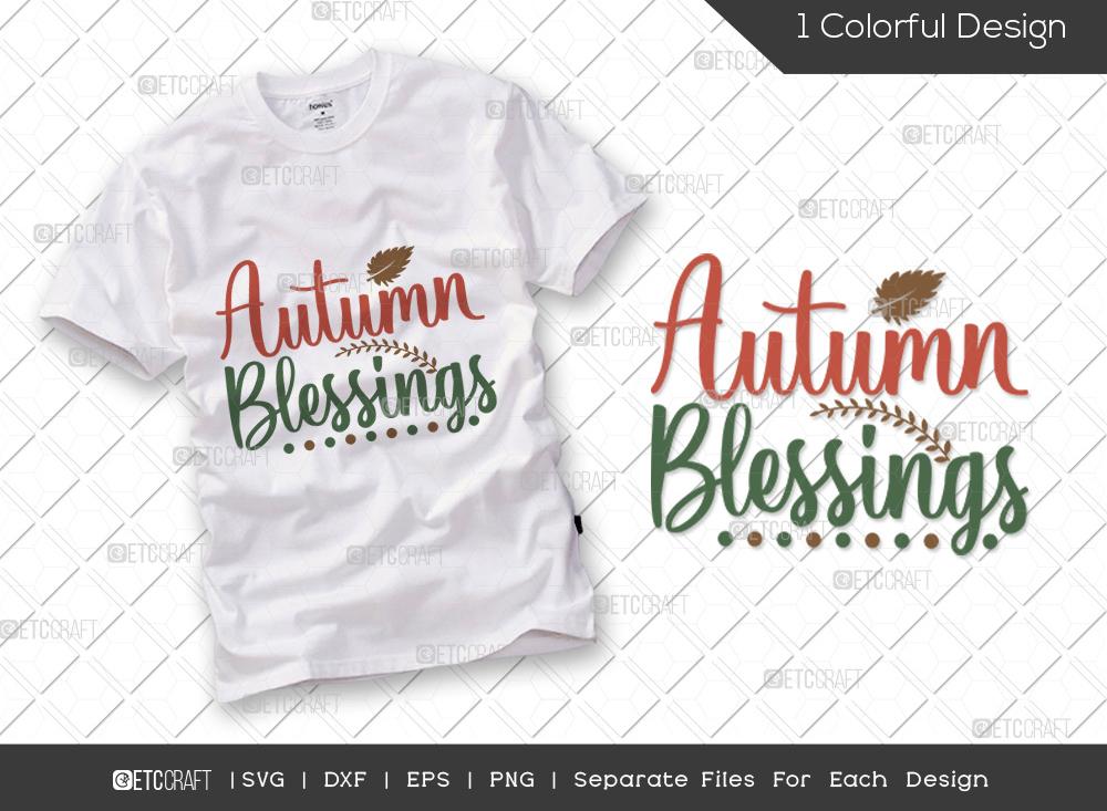 Autumn Blessings SVG | Thanksgiving SVG