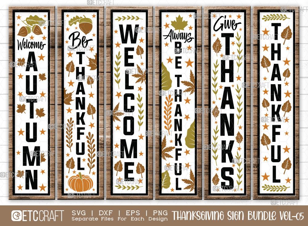 Thanksgiving Sign Bundle Vol-05