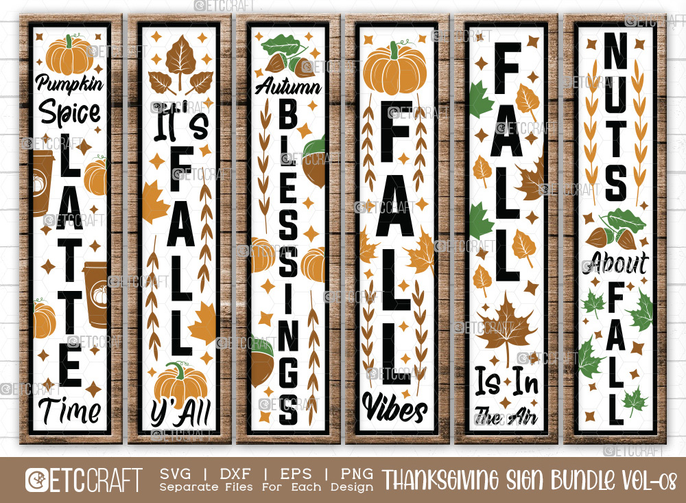 Thanksgiving Sign Bundle Vol-08