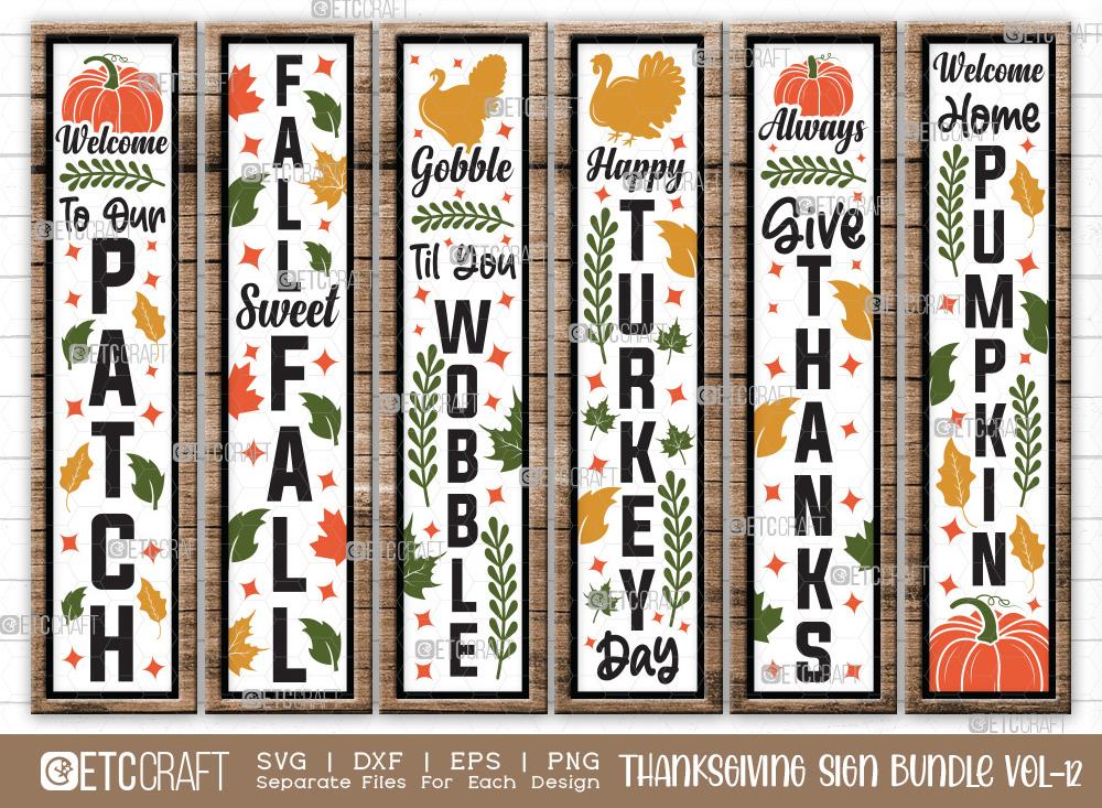 Thanksgiving Sign Bundle Vol-12